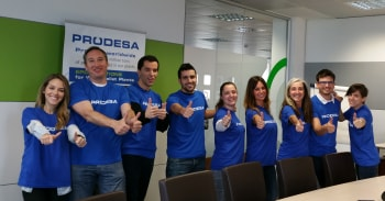 Prodesa teams are ready to participate in the III ESIC CORPORATE CHALLENGE RACE. 8 km