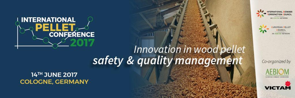International Pellet Conference 2017. Christophe Garnier from Prodesa: Safety in pellet production