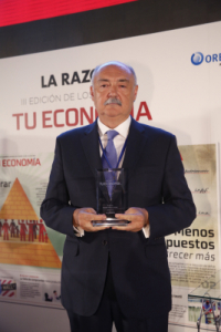 """III EDITION OF THE AWARDS """"YOUR ECONOMY"""". PRODESA has been honored with Award to the Best SME 2017"""