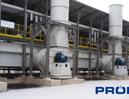 PINNACLE vient de confier à PRODESA un contrat pour la fourniture d'une ligne de séchage pour de sa nouvelle unité de production de granulés de bois