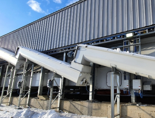 PRODESA belt dryer for Tolko Pinnacle pellet plant, already in operation