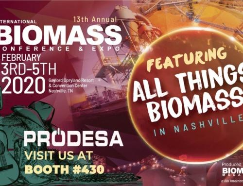 Prodesa participa en la Conferencia Internacional de Biomasa en Nashville
