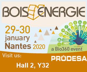 Prodesa asistirá a la feria Bois Energie 2020