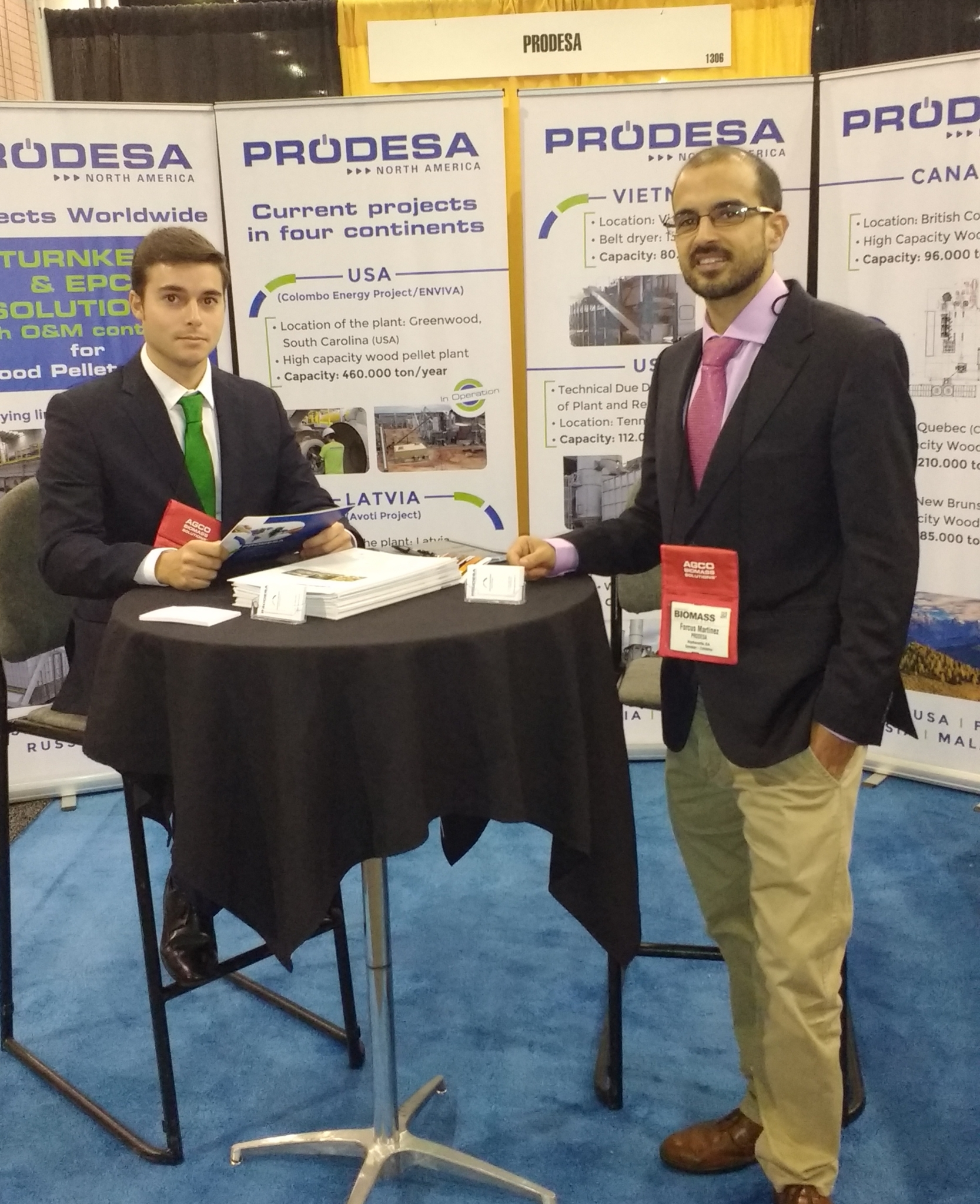PRODESA North America: INTERNATIONAL BIOMASS CONFERENCE AND EXPO, Atlanta, 16-18 Abril