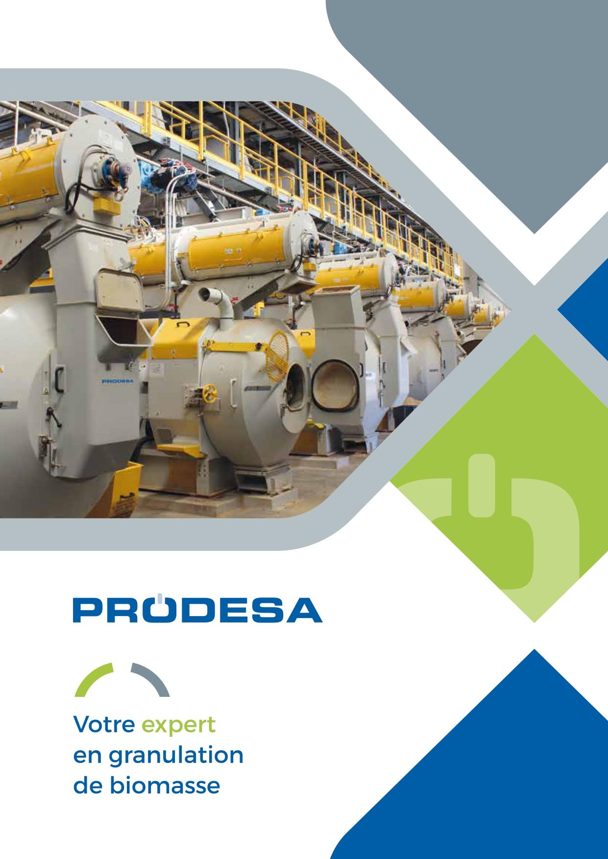 PRODESA brochure en français usine de granulés de bois