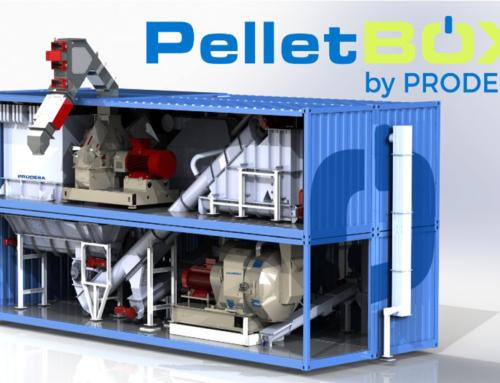 PelletBOX by PRODESA, transforming small and medium pellet plants profitability