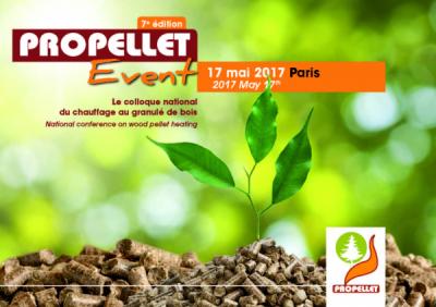 La 7ème édition du Propellet Event aura lieu le 17 MAI 2017 à PARIS.