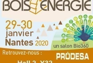 Invitation salon Bois Energie 2020