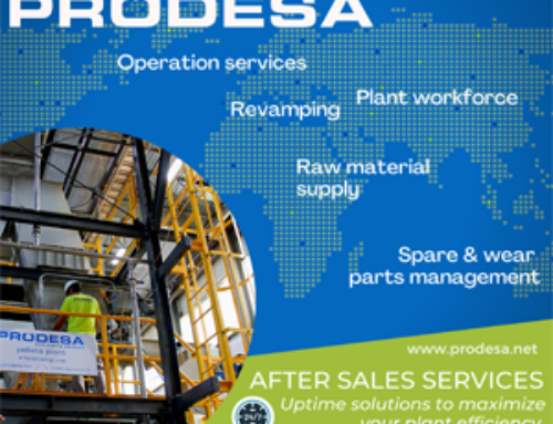 PRODESA after sales division, to maximize pellet production profitability